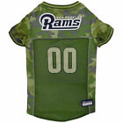 Pets First Los Angeles Rams Camo Jersey