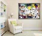 3d Office 54 Fake Framed Poster Home Decor Print Painting Unique Art Summer