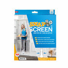 JML Snap Screen Magnetised Mesh Door Curtain: Bugs Out, Fresh Air In