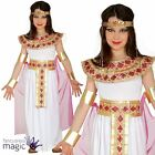 Childs Girls Egyptian Queen Cleopatra Greek Goddess Fancy Dress Costume Outfit