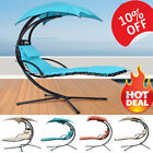 Swing Hammock Garden Helicopter Dream Chair Hanging Chaise Chair Lounger +canopy