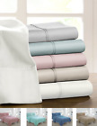 Deep Pocket Egyptian Touch Luxurious Hotel Sheet Sets - Assorted Sizes & Colors image