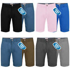 Mens Chino Shorts Stallion Summer Cotton Twill Casual Cargo Half Pant New 2 Pack