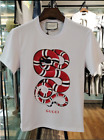 2018 NEW 100% Authentic Gucci Classic T-Shirt White