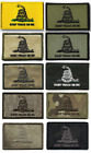 BuckUp Tactical Morale Patch Hook Gadsden DTOM Don't Tread On Me Patches 3x2