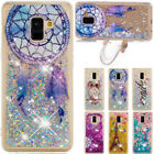 Shockproof Printed Liquid Glitter Quicksand Soft TPU Cover Case For Samsung A8