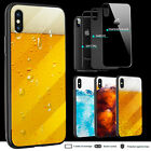 iPhone X 8 Plus 7 6 6s Plus SE 5s Case Beer Drinks Glass Back Bumper Print Cover $9.99  on eBay