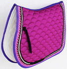 Horse Quilted ENGLISH SADDLE PAD Trail Dressage 72Dressage