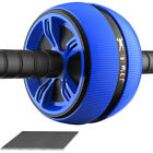 Ab Roller Wheel ABS Exerciser Abdominal Workout Home Gym Fitness Tool Exerciser