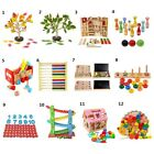 luxury childrens toys - Kids Preschool Learning Montessori Wood Educational Toy Abacus Puzzles Counting