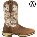 """REBEL BY DURANGO DESERT CAMO PULL-ON WESTERN 12"""" BOOTS DDB0166 * ALL SIZES - NEW"""