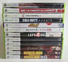 Xbox 360 Games Lot - Choose From The Lot - USED #1