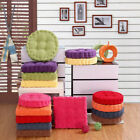 UK STOCK Round Chair Pad Cushion Thicker Soft Washable Seat Floor Mat Home Decor