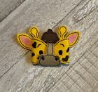 3D Vinyl Giraffe Hair Bow