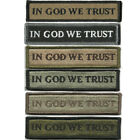 """BuckUp Tactical Morale Patch Hook In God We Trust Morale Patches 3.75x1"""""""