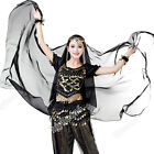 Ladies Belly Dancing Costume Veil Indian Dance Veils Big Performance Chiffon 1