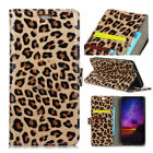 Leopard Luxury Magnetic Wallet Stand Leather Case Cover For Various Phone