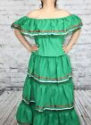 ASSORTED WOMENS MEXICAN GYPSY PEASANT LACE DRESS CINCO DE MAYO COSTUME