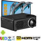 4k hd projector - 4K HD 1080P LCD LED Android Wifi Smart 3D Home Theater Projector Portable HDMI