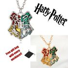 Harry Potter Jewelry Hogwarts Houses Badge Gryffindor Slytherin Necklace Gift