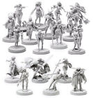 1:35 Resin Figure Kits Model Pinup Collection With 18 Girls Miniature Unpainted