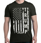Trump 2020 USA Flag T-Shirt Donald Make America MAGA Political Election Tees image