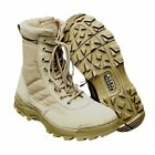 US Mens Military Tactical Deployment Boot SWAT Leather Boots Duty Work Shoes HOT