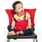 Baby Portable Booster High Chair Belt Folding Camping Dining Feeding Kids