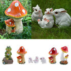 Resin Ornament Cute Animal Toy Lawn Sculpture Desktop Figurine Fairy Garden