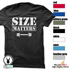 SIZE MATTERS Gym Rabbit TShirt 7 colors Workout Bodybuilding Fitness Lift D404 image