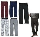 MEN'S LIGHTWEIGHT, COTTON/POLY LOUNGE / PAJAMA PANTS, SIDE POCKETS, FLY, S-2X