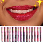 Women Fashion Glitter Flip Metallic Matte Liquid Lipstick Ca