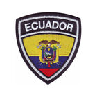 Ecuador Flag Crest Embroidered Patch