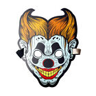 Sound Reactive Clown LED Cool Light Mask Sound Activated Dance Party Rave Mask