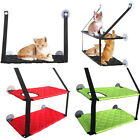 Fashion Pet Cat Window Hammock Soft Cat Kennels Safe Hanging Shelf Seat Bed BS
