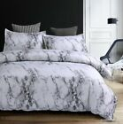 Hot 2018 Simple Duvet Quilt Cover Bed Bedding Set Double Queen King Size Pillow