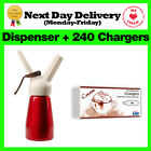 Whipped Cream Chargers Liss Canisters & Mosa Whippers option - Free Delivery
