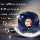 Inflatable Flight Pillow Neck U Travel Hiking Rest Head Support Air Cushion Soft