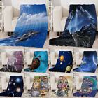 "50""x 60"" 60x80"" Fleece Throw Blanket Assorted Styles Comfy Soft Blanket image"