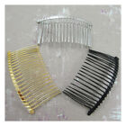 METAL HAIR COMBS *3 COLOURS* WEDDING ACCESSORIES FASCINATOR TIARA FINDING
