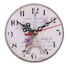 Room Antique Decor Wall Clocks Decoration Clock Shabby Chic Retro Kitchen