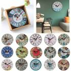 Range Antique Decor Wall Clocks Decoration Clock Shabby Chic Retro Kitchen