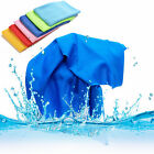 Sports Exercise Sweat Summer Ice Cold Towel PVA Hypothermia Cooling Towel TB