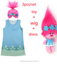 TROLLS PRINCESS POPPY DRESS WIG AND TOY HALLOWEEN PARTY 4 5 6 7 8 9 10 12 image