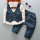 DIIMUU Kids Baby Boys Clothes Clothing Sets Infant Boy Suit