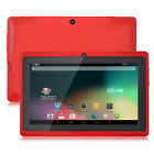 """7"""" HD TABLET PC ANDROID4.4 4CORE 1GB+16GB 1.5GHZ 2CAMERA BLUETOOTH WIFI G-SENSOR"""