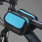 Pannier Bike Cycling Pouch Bicycle Double Saddle Storage Bag Front Frame Tube
