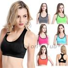 Fashion Quality Running Gym Yoga Workout Fitness Bra Padded New Design 6 Colors