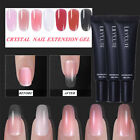 7pcs  Nail Extension Poly Building Gel Slip Solution Brush Gel Polish