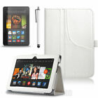 for Amazon Kindle Fire HDX 7 3rd Gen 2013 Tablet ULAK PU Leather Defender Cover
